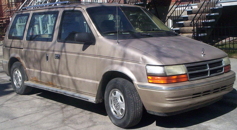 File 91 Dodge Caravan Jpg Wikimedia Commons