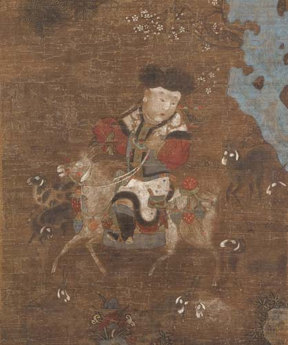 File:'Boy Riding a Goat', 15th-century Ming dynasty Chinese