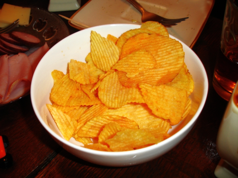 Barbecue Chips Barbecue Potato Chip