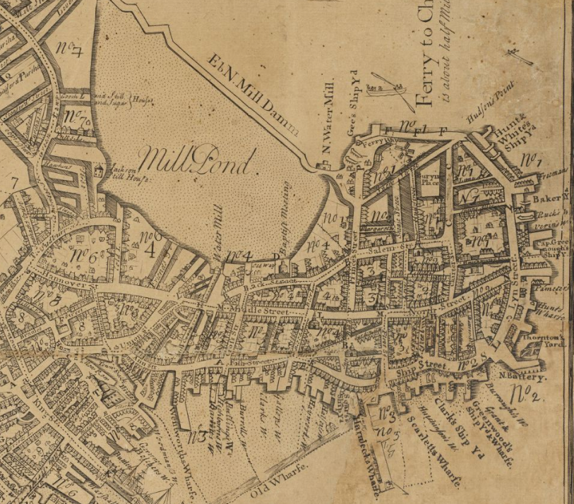 map of boston ma area and suburbs in 1775