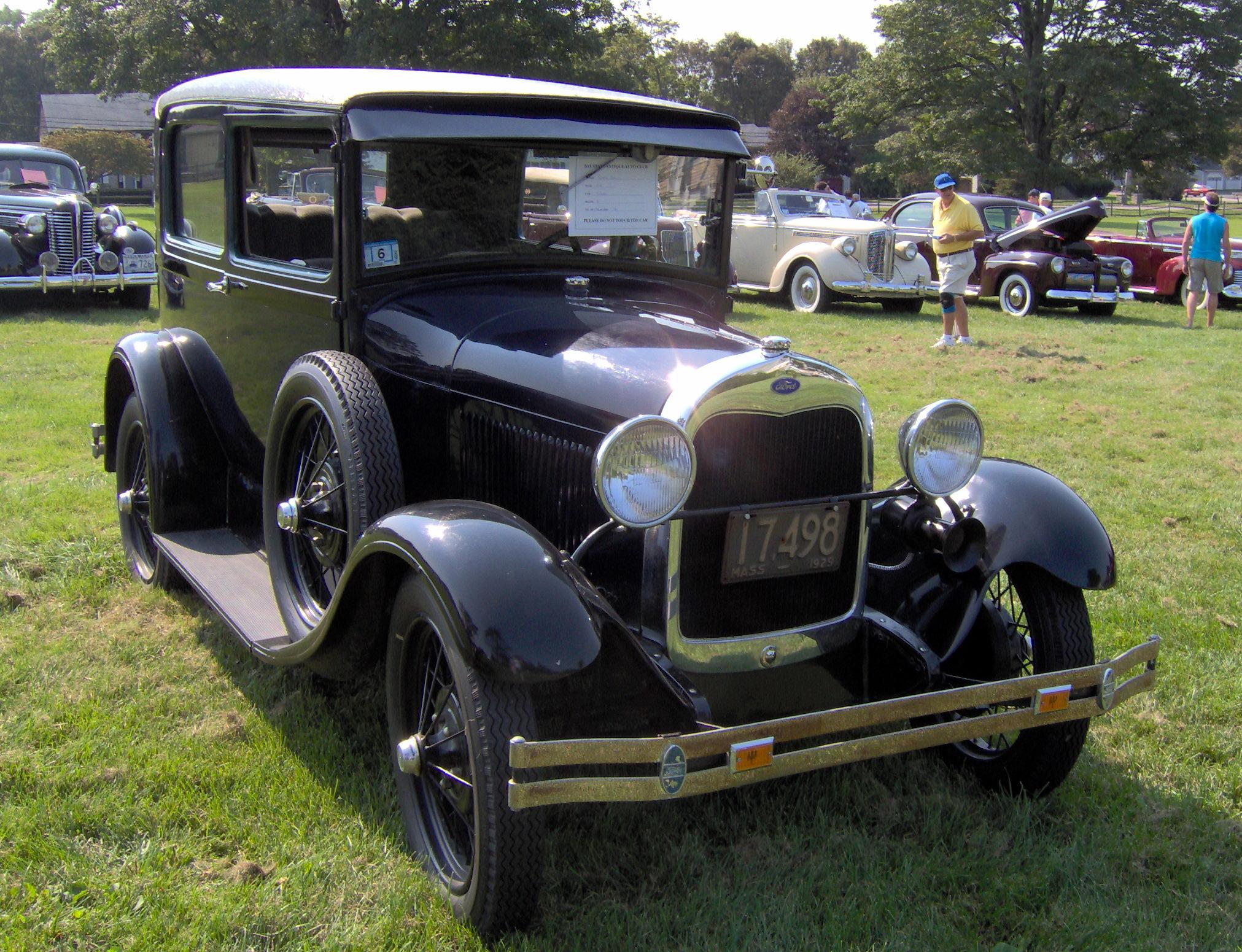 Ford Model A Car Colors