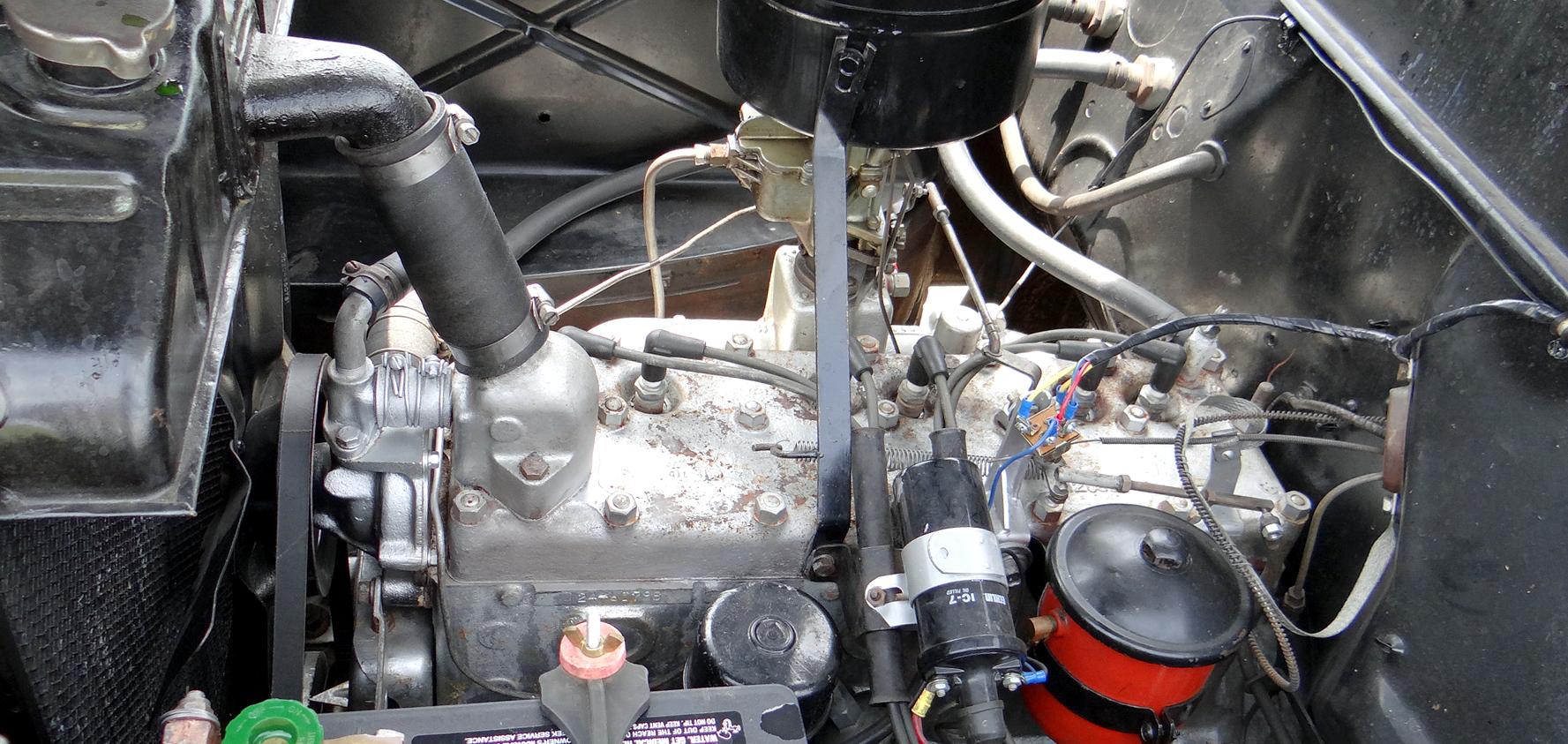 File 1946 Dodge D24c 4 Door Sedan Flathead 6 Cylinder Engine 265 Jpg Wikimedia Commons