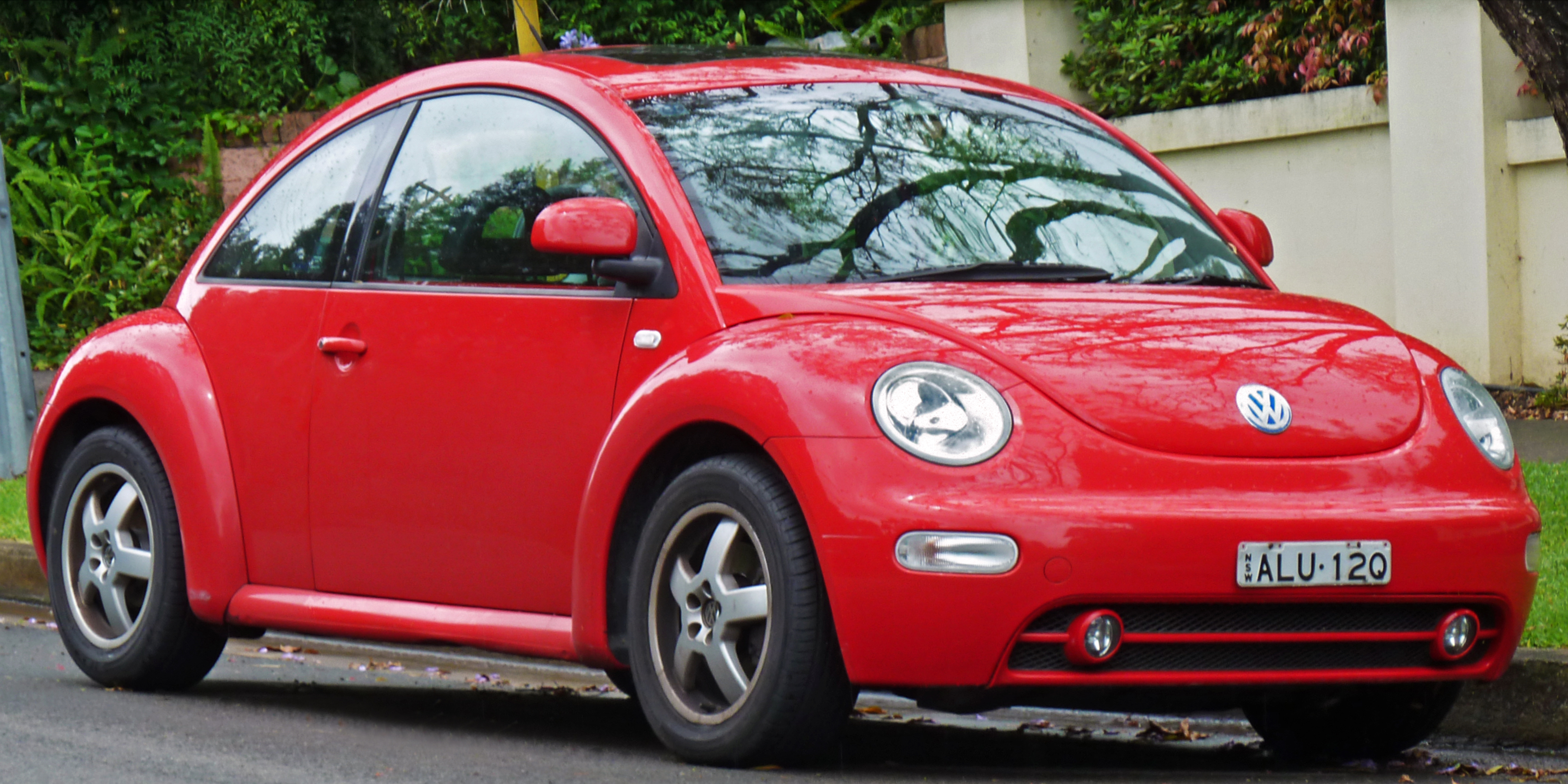 vw htm red new rear beetle