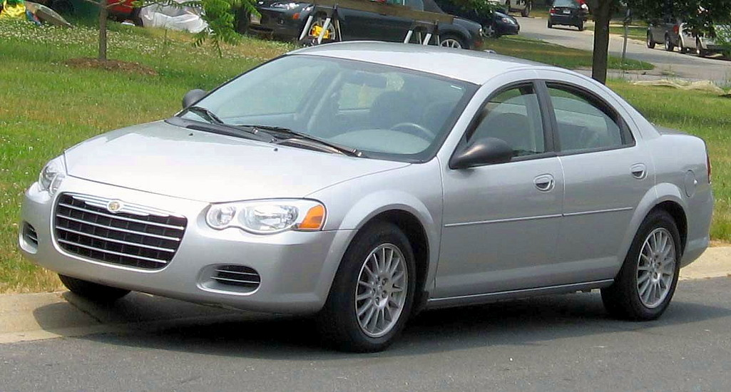 Chrysler Sebring Sedan on 1995 Chrysler Pt Cruiser