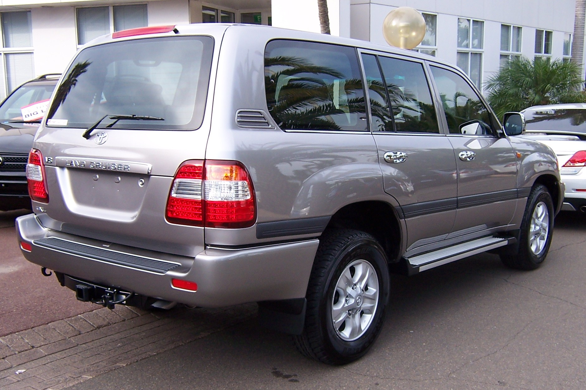 Superb File:2007 Toyota Land Cruiser (UZJ100R) GXL Wagon (2007 05