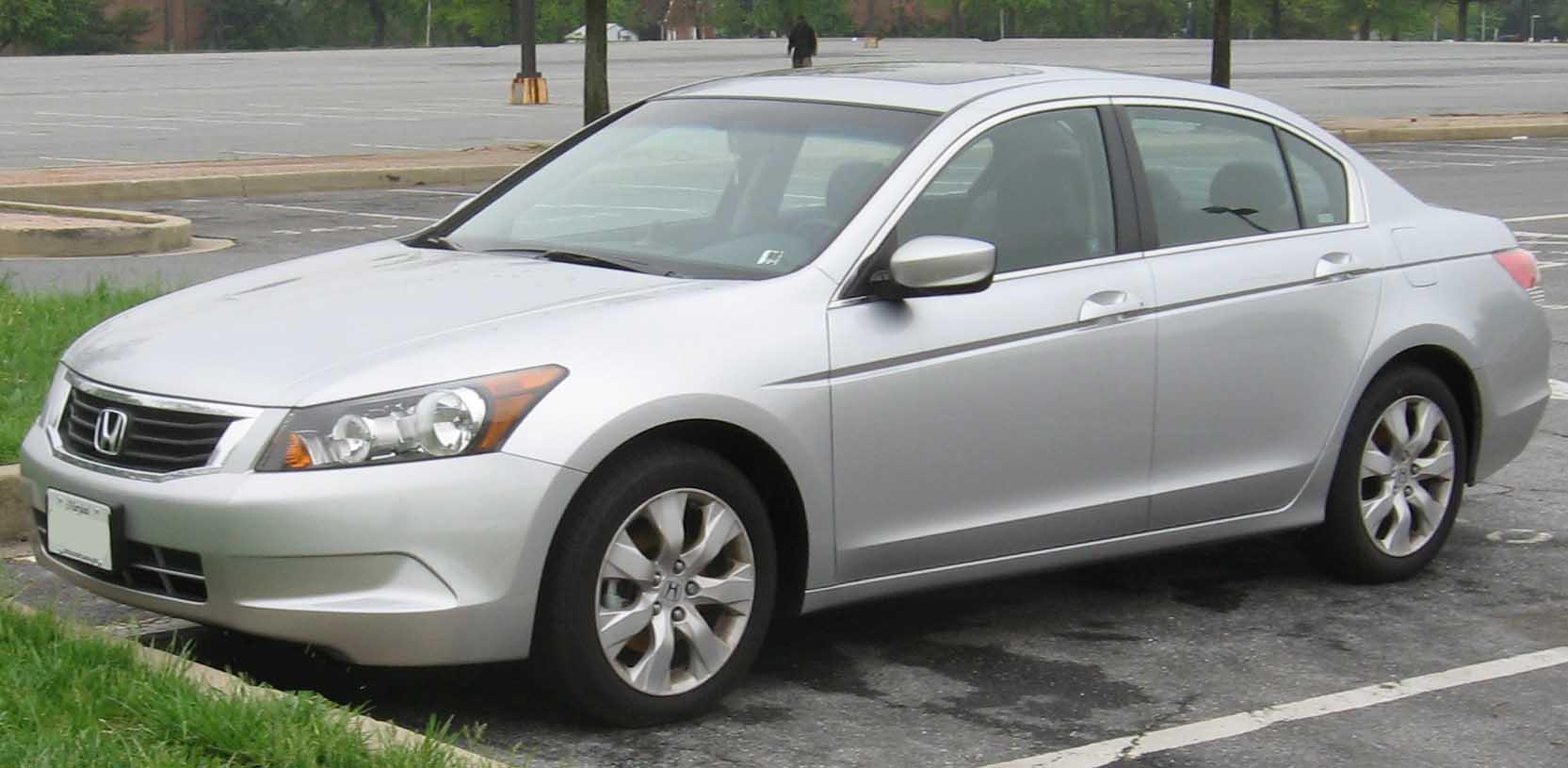 Honda Accord North America Eighth Generation Wikipedia 2004 Crv Lx L4 24 Liter Gas Exhaust Components