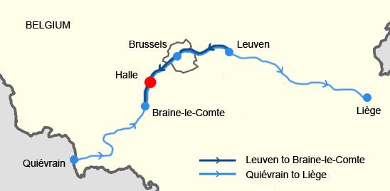 Eisenbahnunfall von Halle (Belgien) – Wikipedia