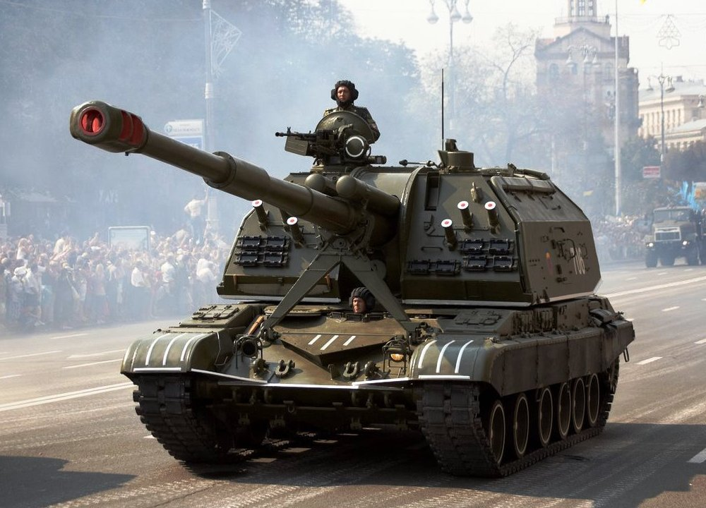 Битва САУ: американский Паладин против русской Мста-С