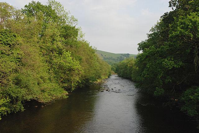 Afon Tywi at Rhandirmwyn - geograph.org.uk - 1339892