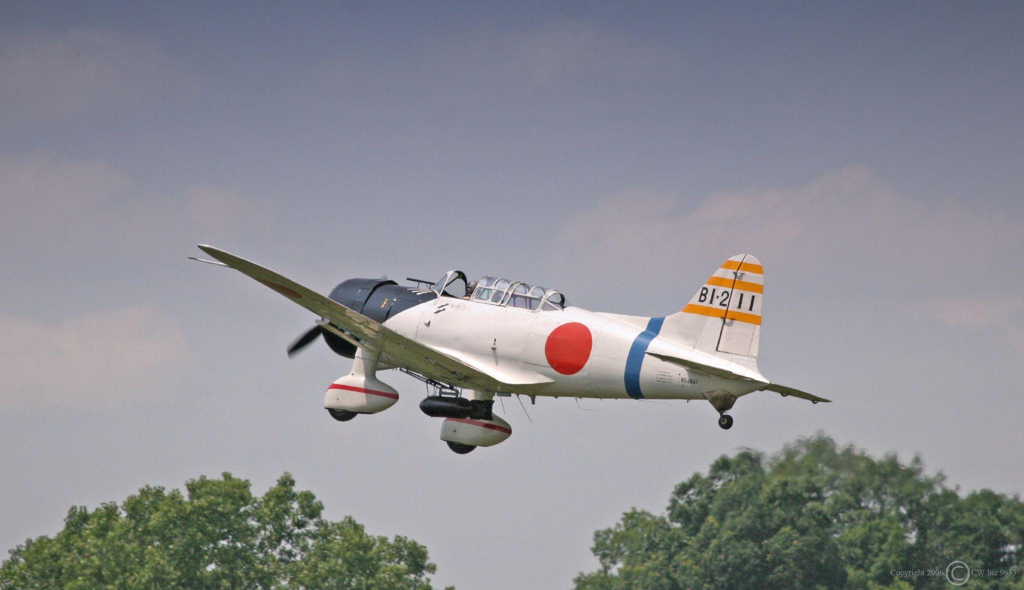 Aichi D3A Replica Airshow.jpg