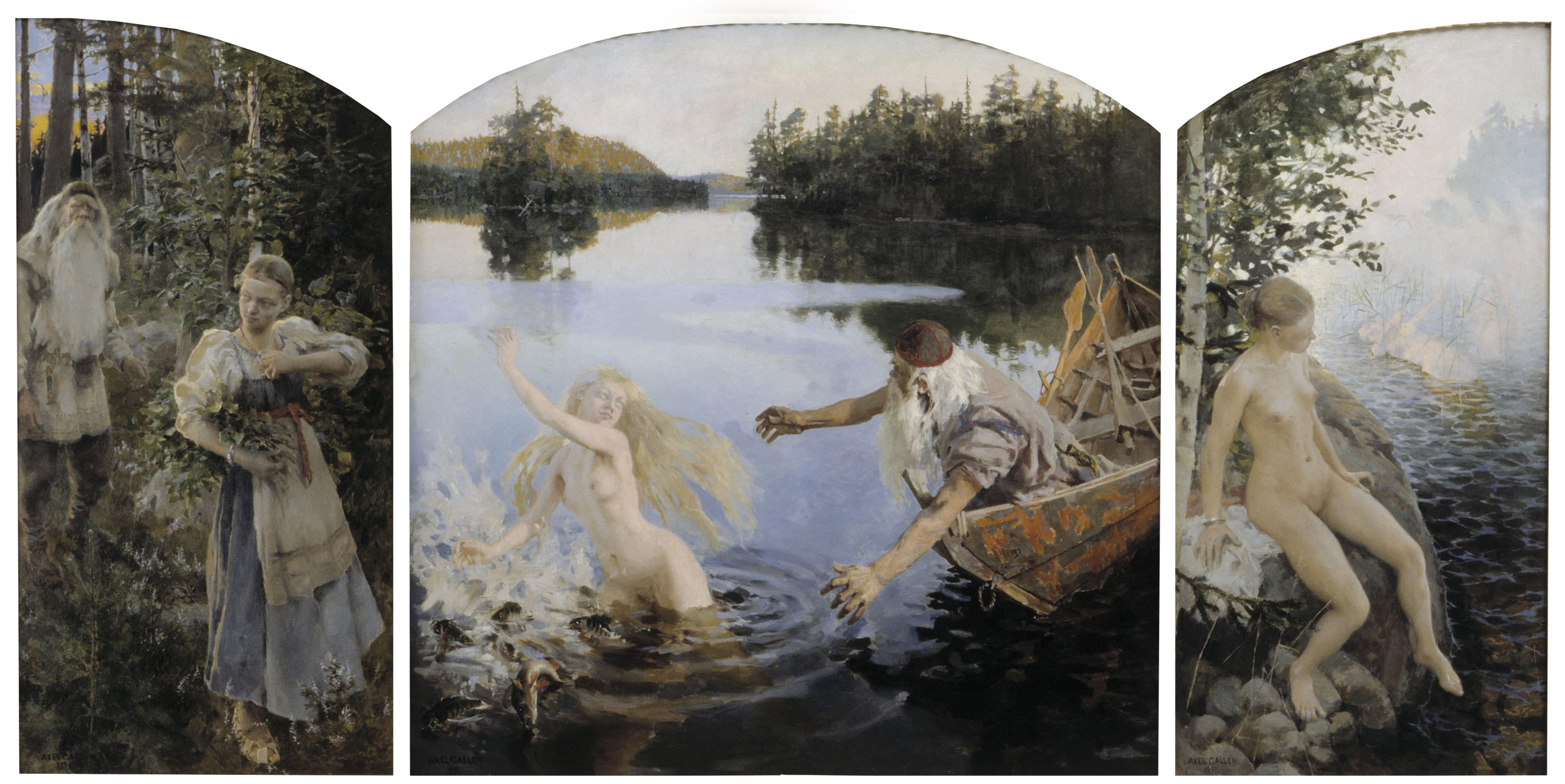 Akseli Gallen Kallela Aino