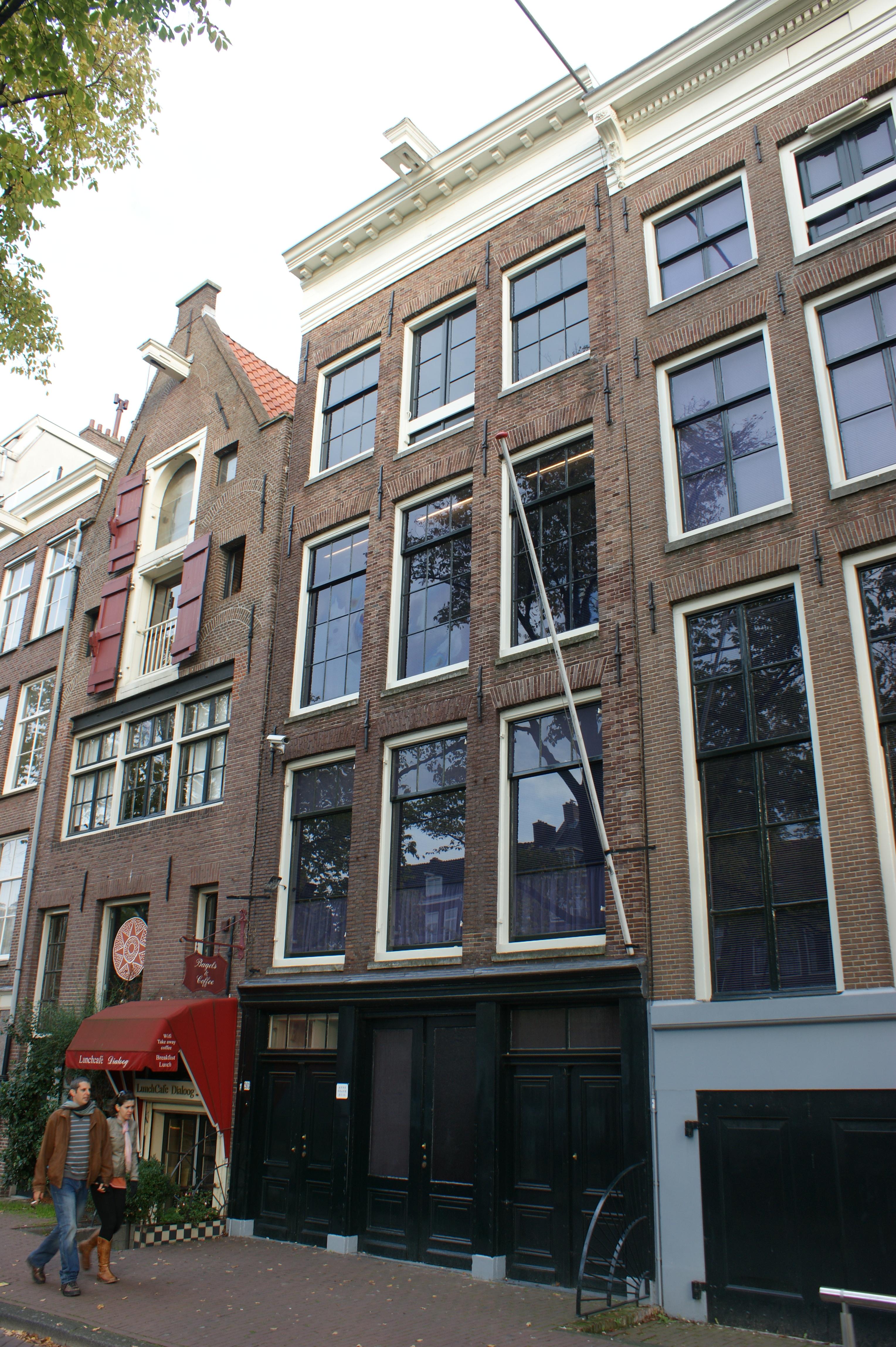 Anne frank huis in amsterdam monument - Fotos van huis ...