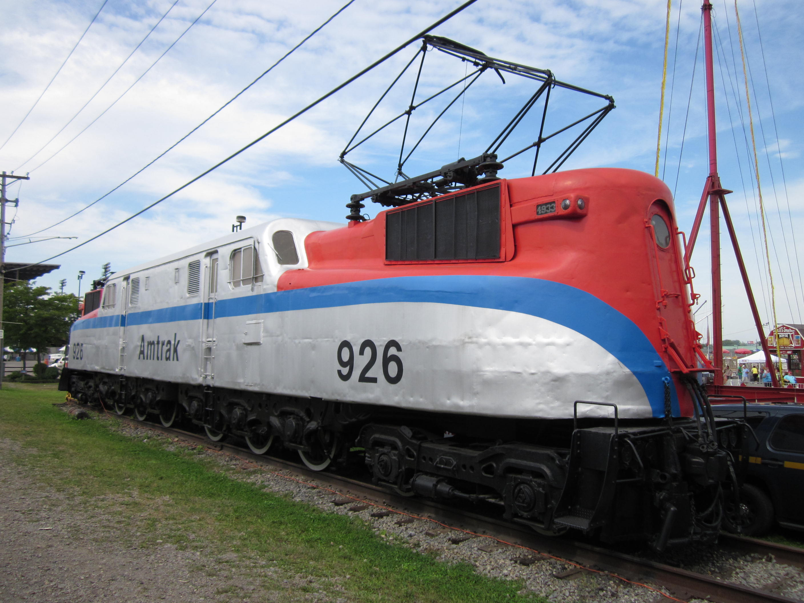 File:Amtrak 926 at The Great New York State Fair - Syracuse, New York