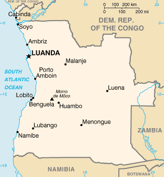 AnexoLocalidades de Angola  Wikipedia la enciclopedia libre