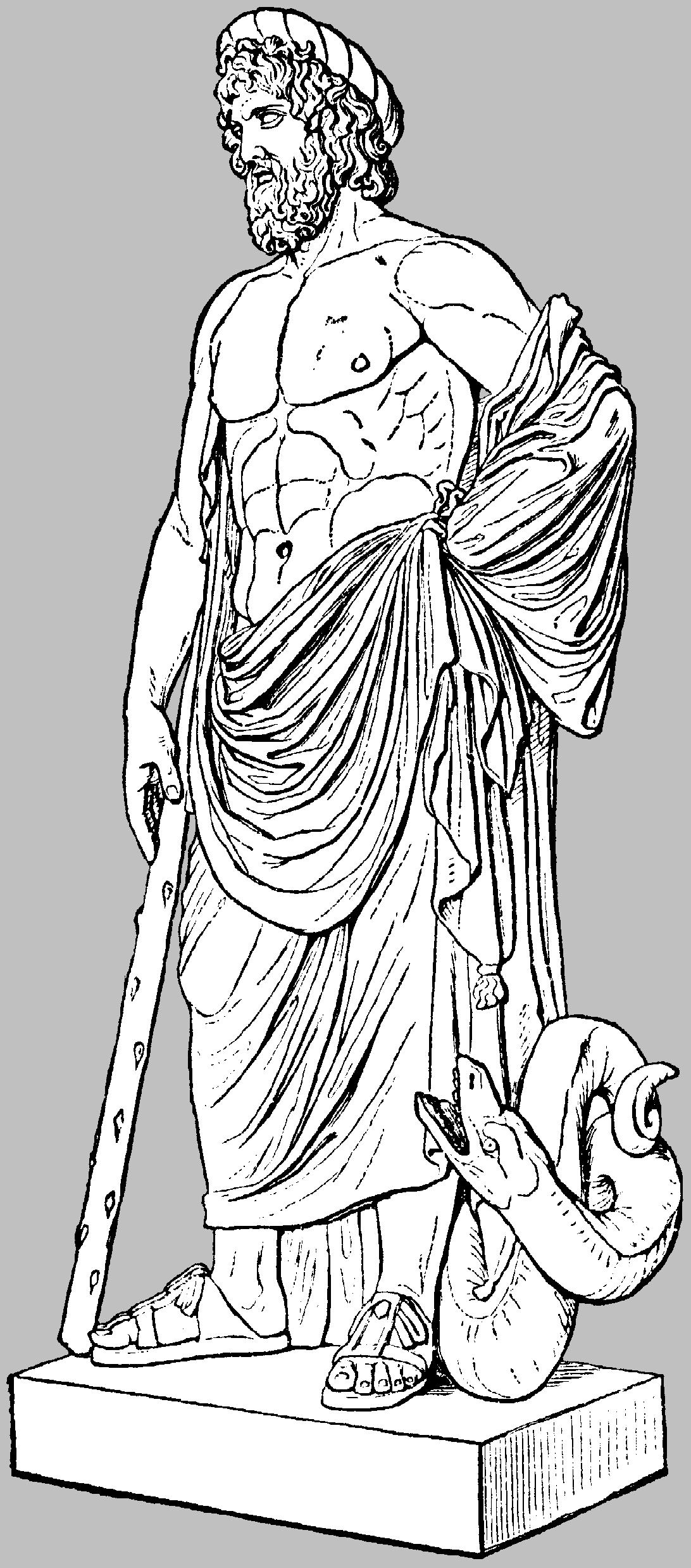 läkekonstens gudinna grekisk mytologi
