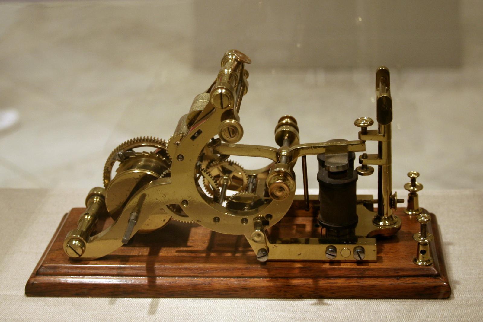 Automatic Telegraph Reciever La telegrafía: un ejemplo de la complicada relación CTS.