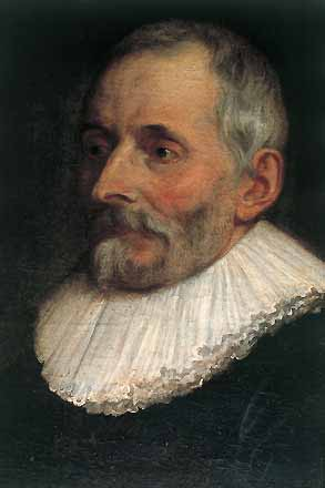 Portrait of Balthasar I Moretus by [[Peter Paul Rubens