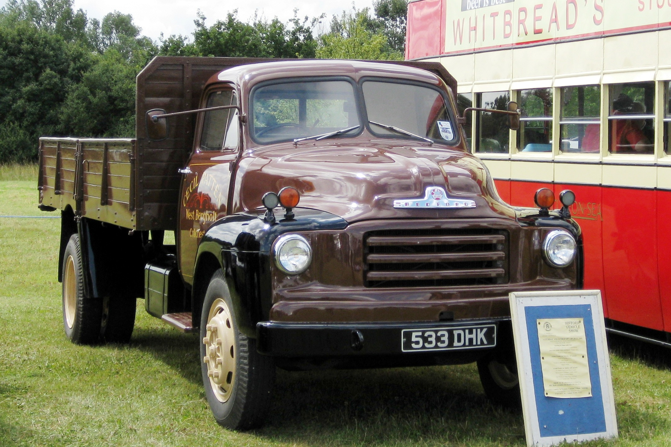 File Bedford A Type Tipper Truck 4927cc June 1955 Jpg
