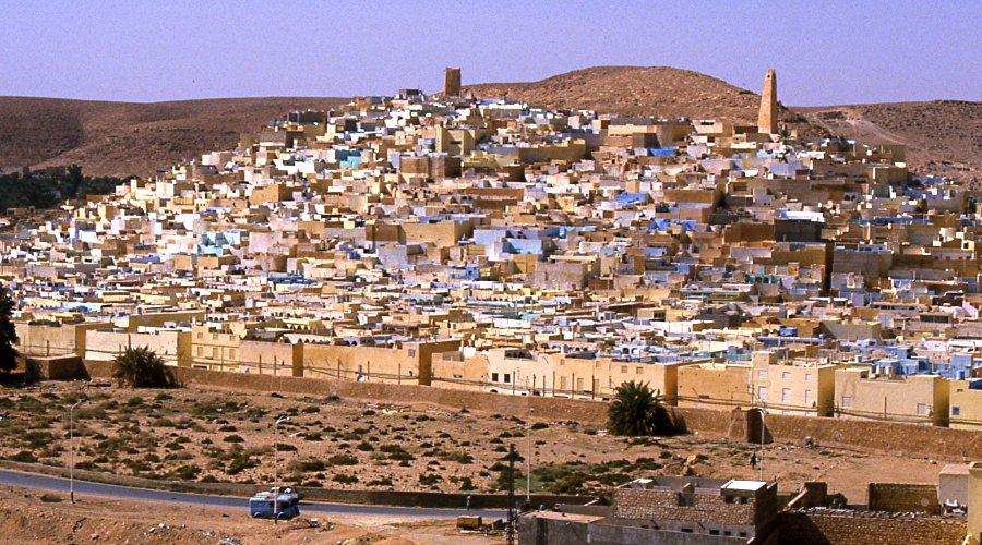 Beni Isguen dans la vallée du M'zab.