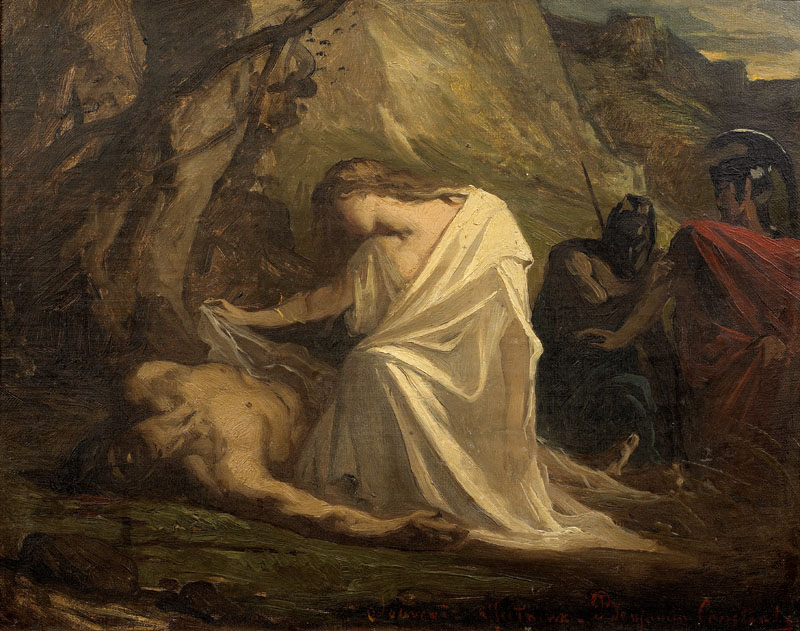 an analysis of kreon and antigone as a tragic heroes in antigone Antigone has a few tragic flaws going for her, or rather against her her loyalty to the gods and her brother's memory means that she will have to be disloyal to king creon antigone.