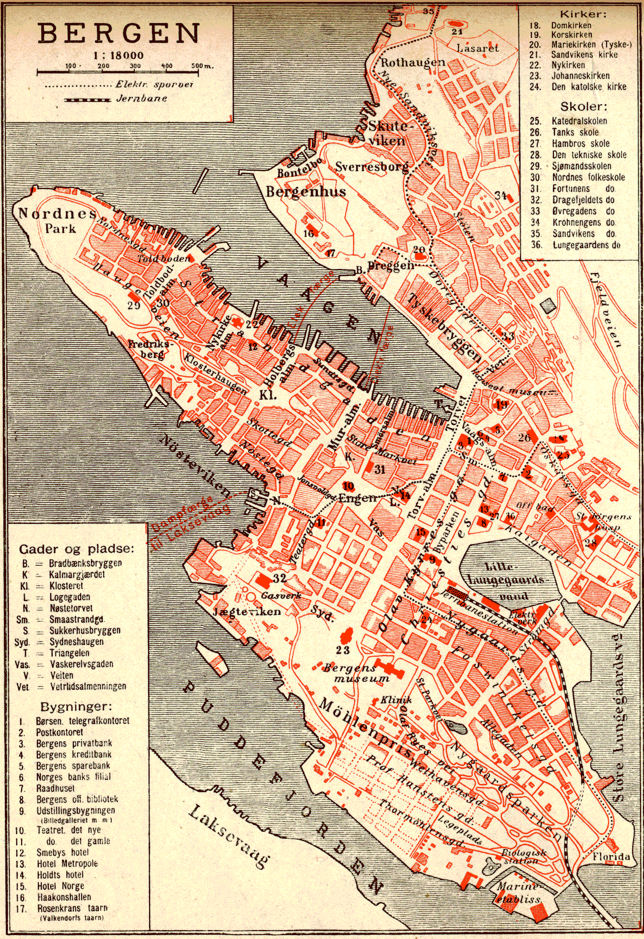 bergen trikk kart Trikken i Bergen – Wikipedia bergen trikk kart