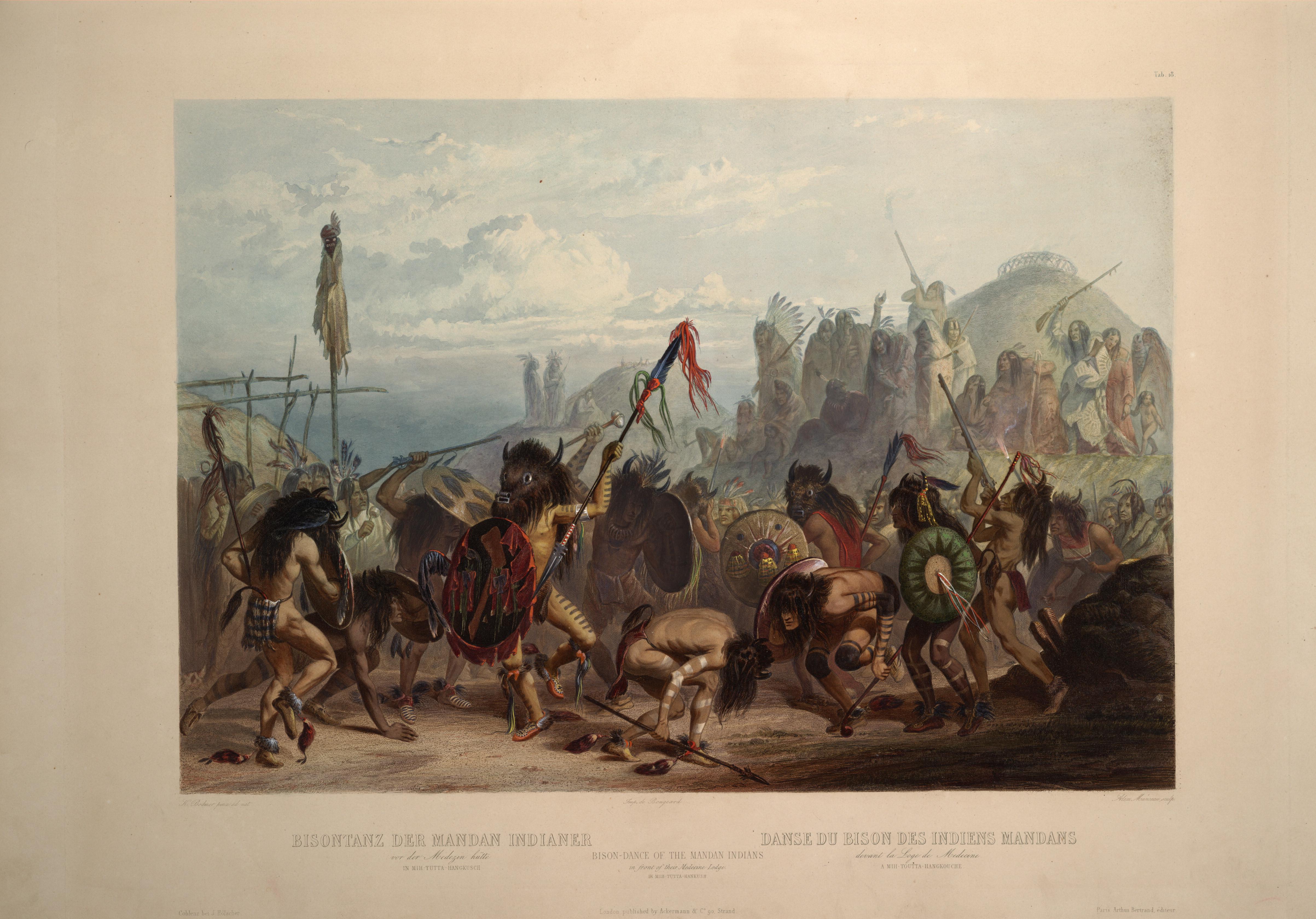 Brief Insights: Karl Bodmer Paintings and North Dakota Natives