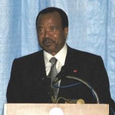 Paul Biya, le 16 février 2006.