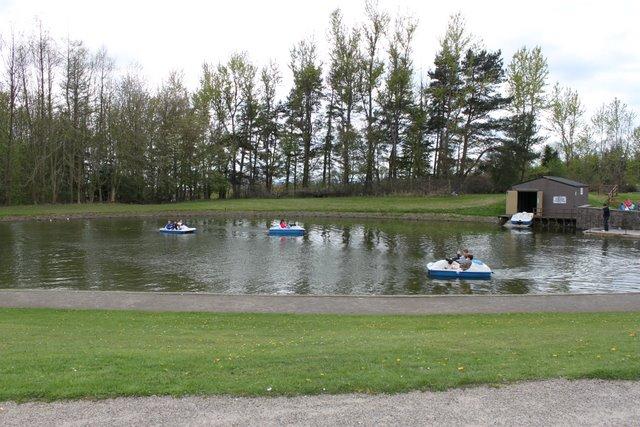 Boating Pond, Camperdown Park. - geograph.org.uk - 1867324