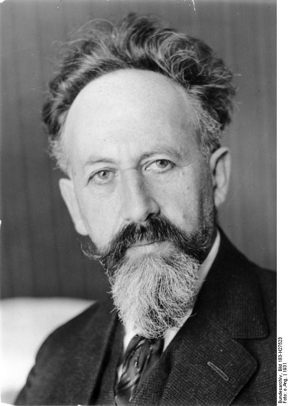 Gustav Mayer, 1931