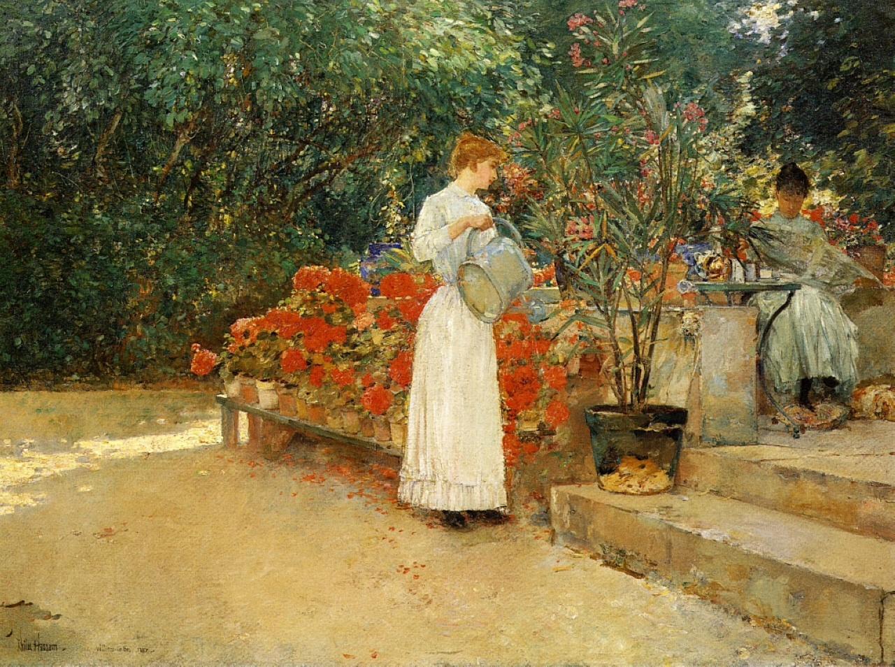 Butler Lili in garden.jpg