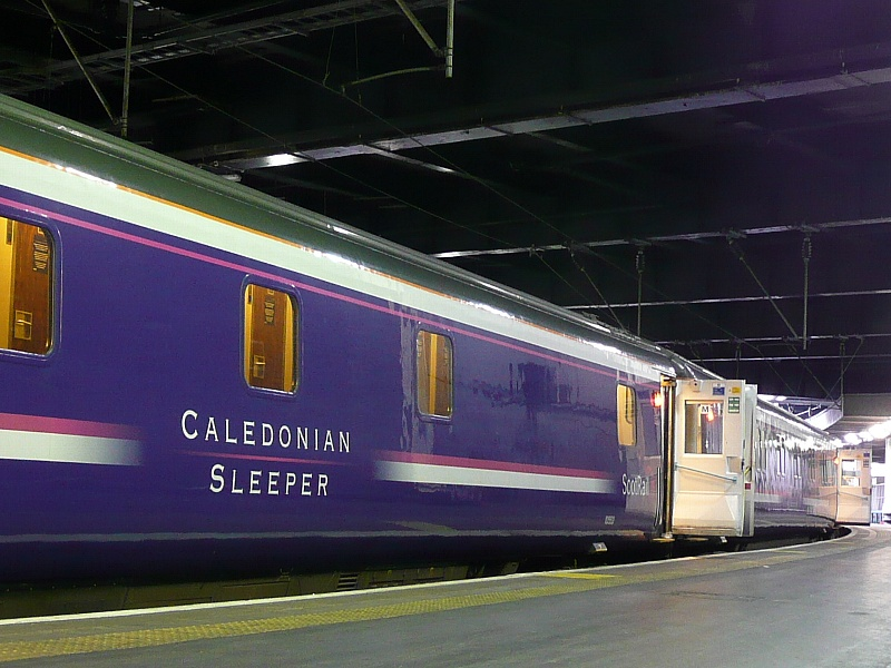 Caledonian Sleeper at Euston