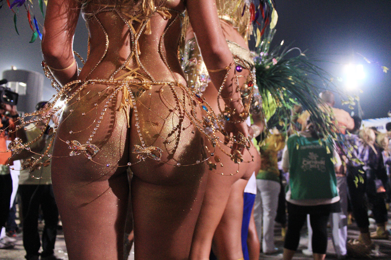 Развлечения Негритянских Бразильских Венгерских Женщин Обнаженных