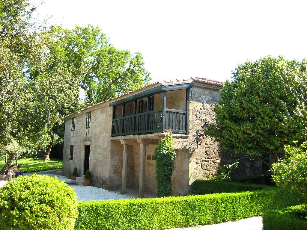 Casa de Rosalía en Padrón, sede de la Fundación Rosalía de Castro.