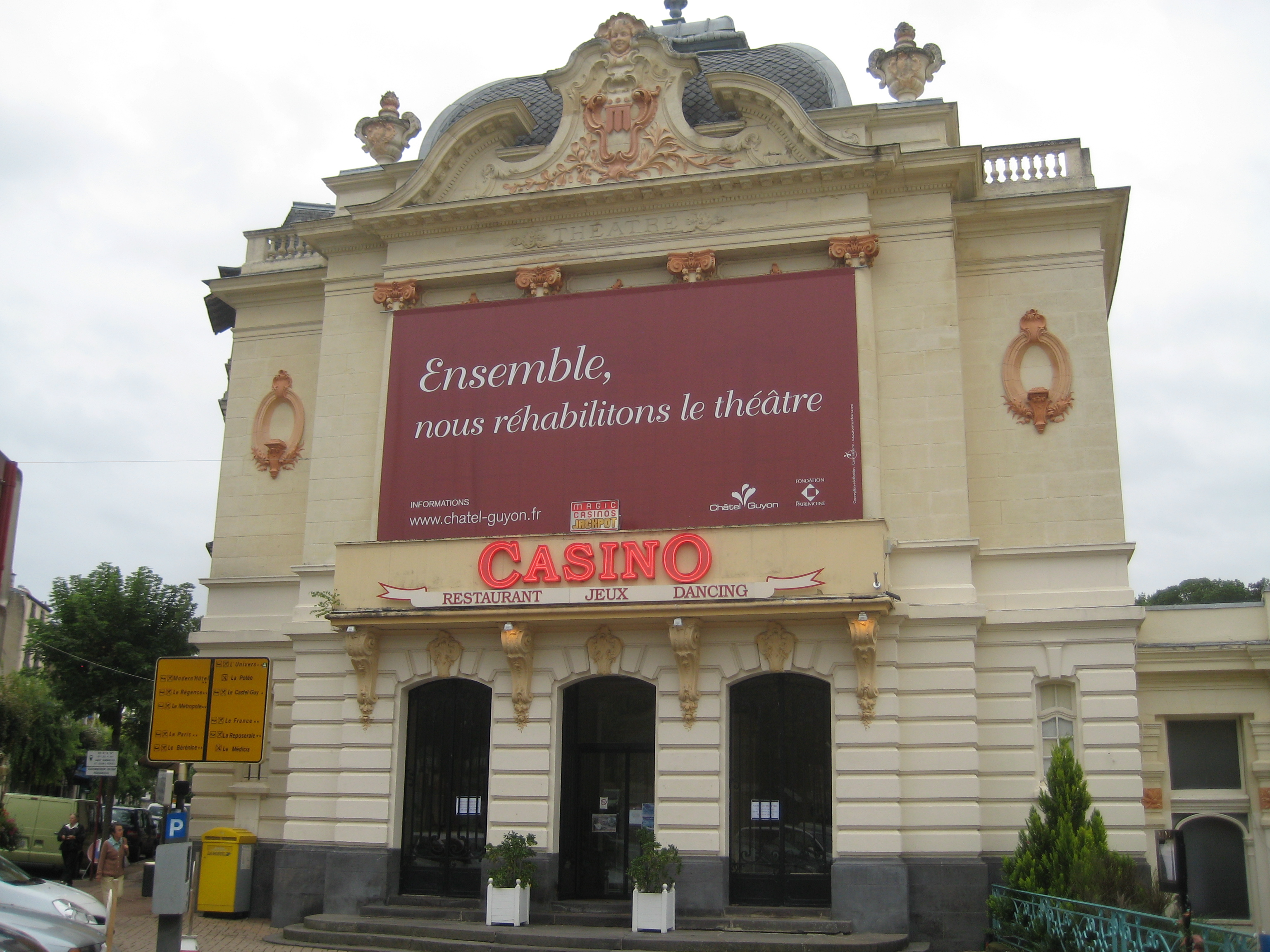 File casino de ch tel - Office de tourisme chatel guyon ...