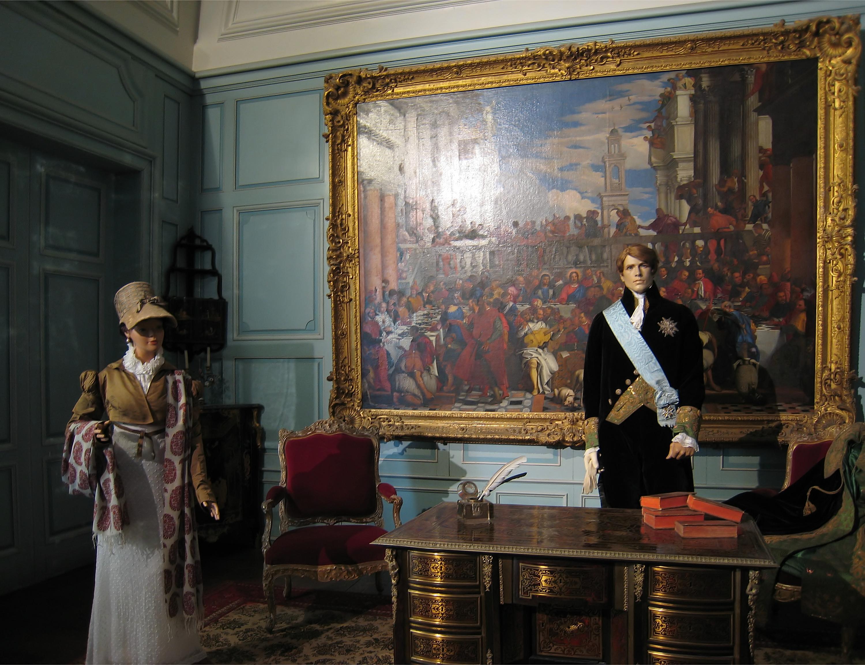 marqueterie boulle le bureau mazzarin du chateau uss. Black Bedroom Furniture Sets. Home Design Ideas