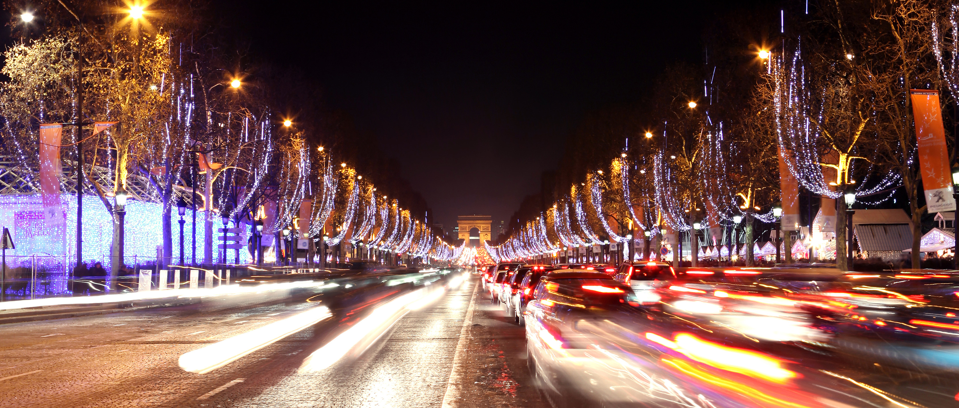 Decoration Noel Champs Elysees