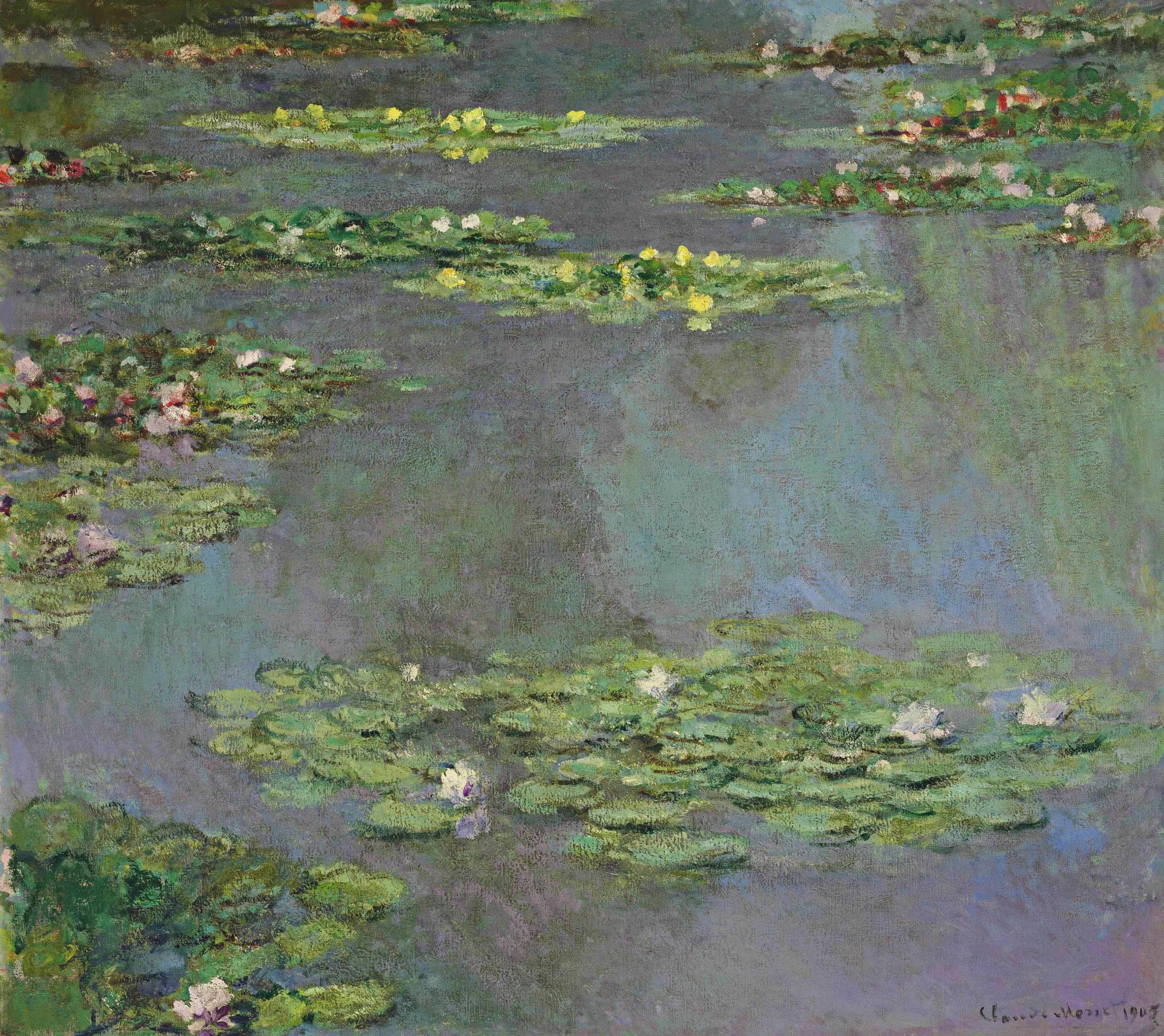 Monet: File:Claude Monet, Nymphéas (1905).jpg