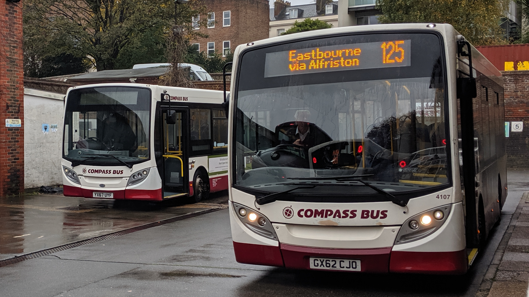 the sussex bus fleet