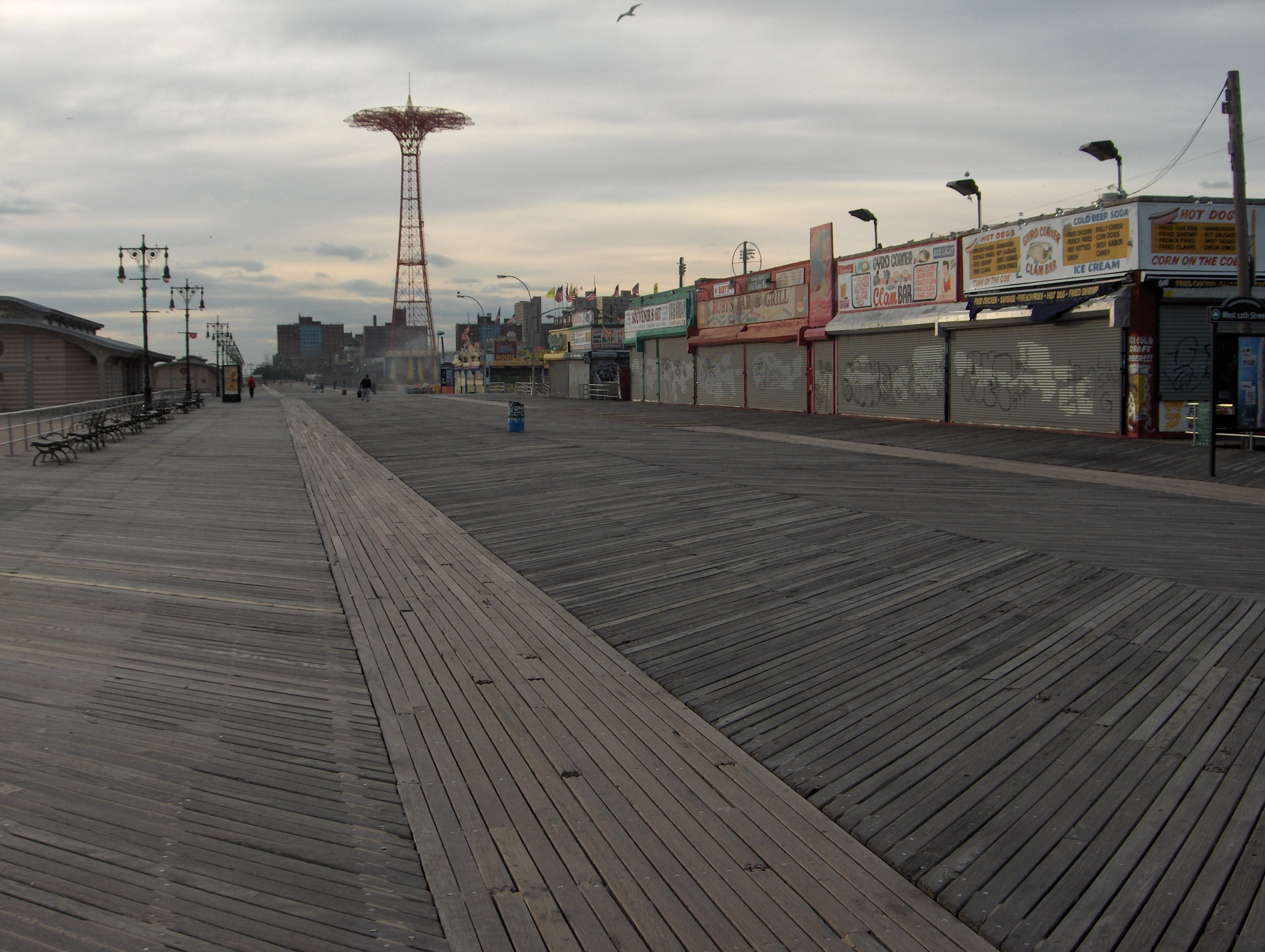 Coney Island Board Walk Fight