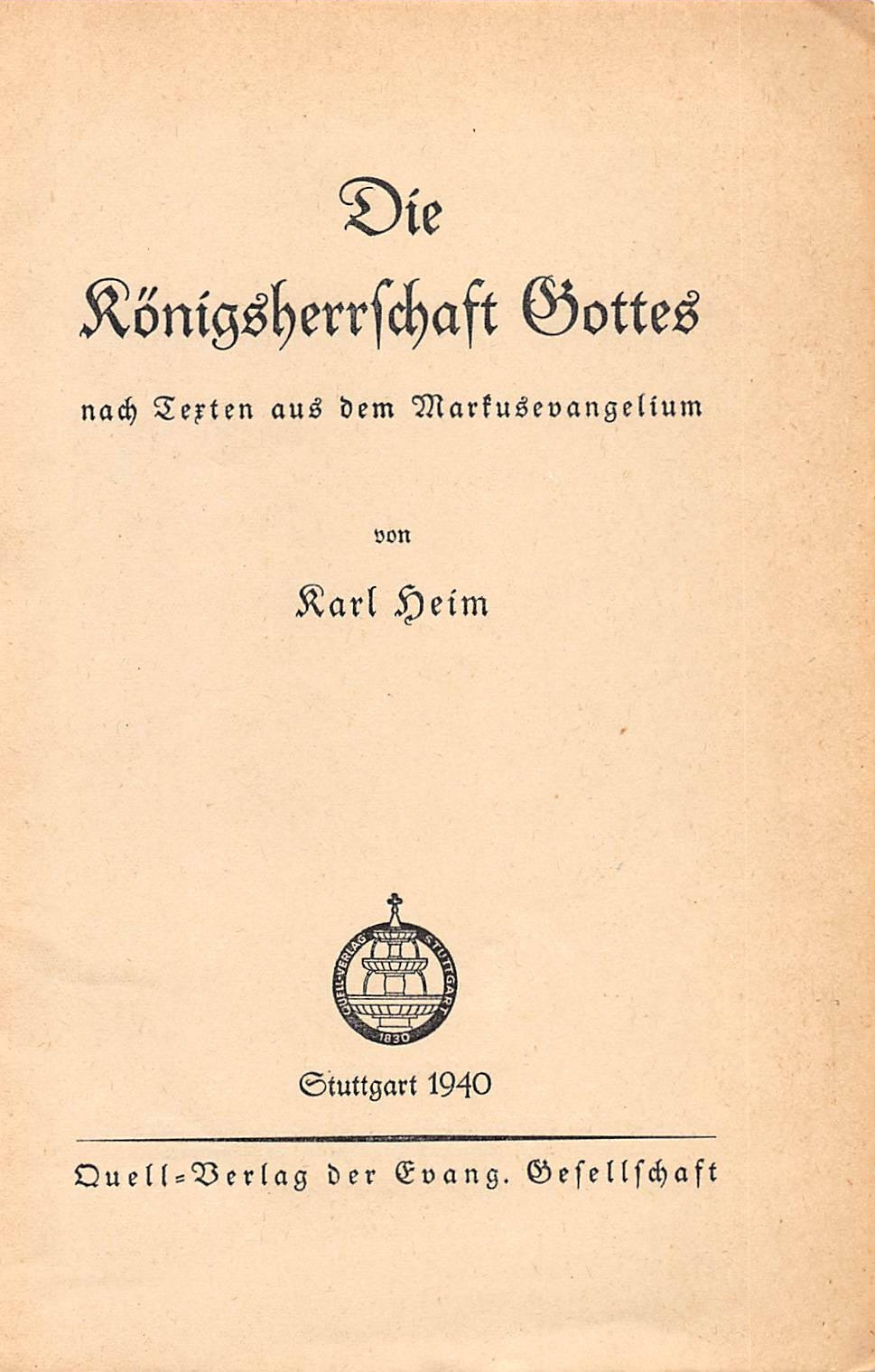 cover page for booklet
