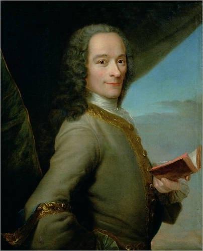 Вольтер, один из крупнейших французских философов-просветителей XVIII века