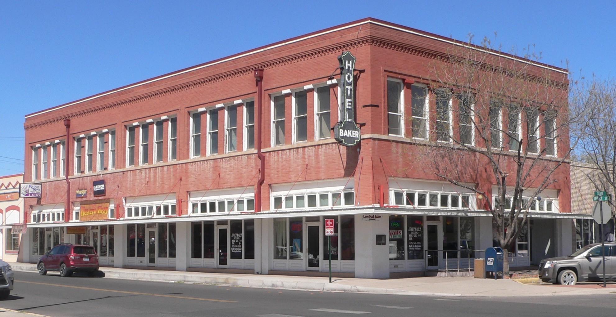 File Deming New Mexico Baker Hotel Bldg From Se 1 Jpg