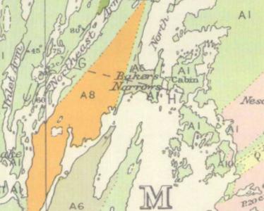 geology of flin flon area