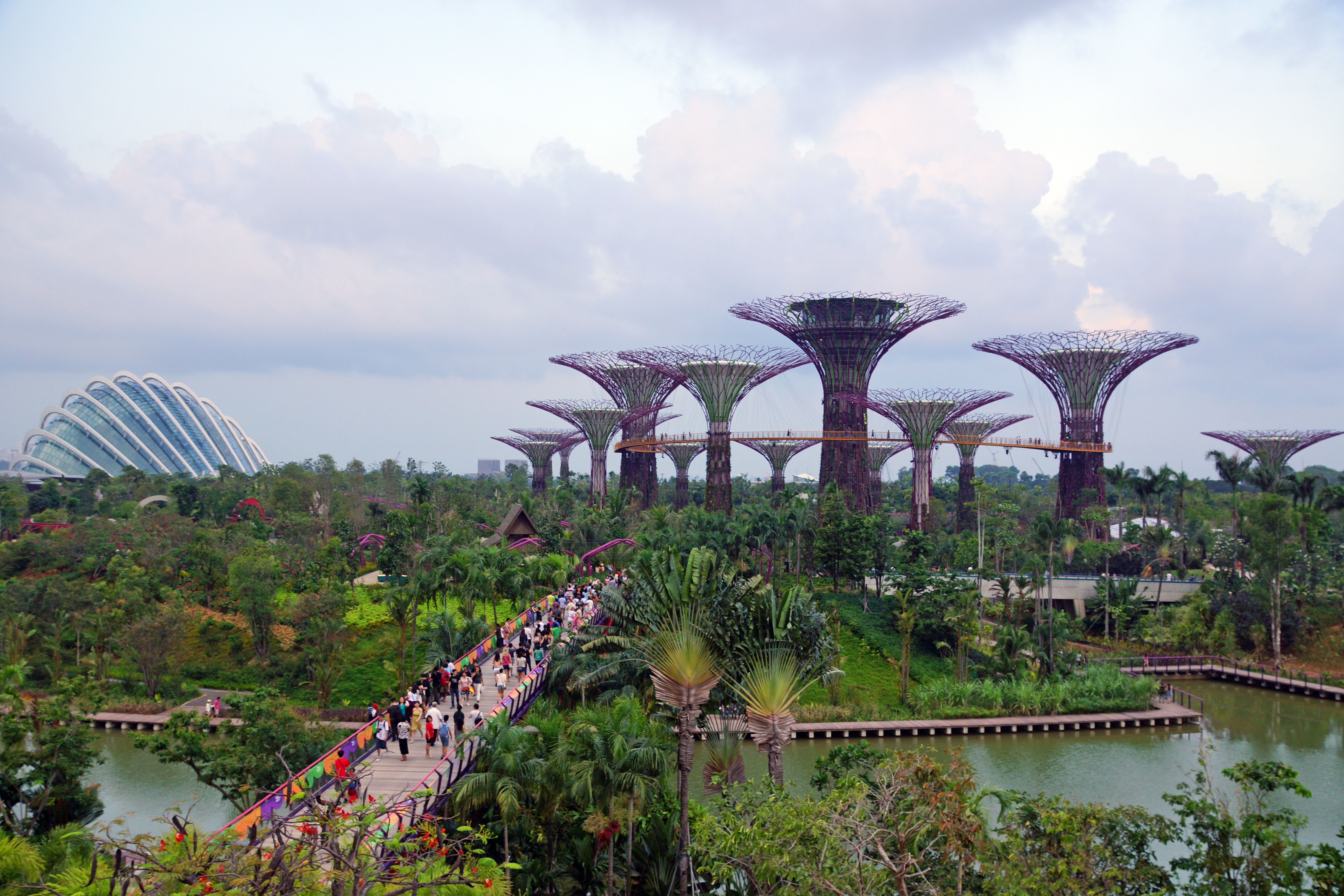 Singapore Gardens By The Bay Hot Girls Wallpaper