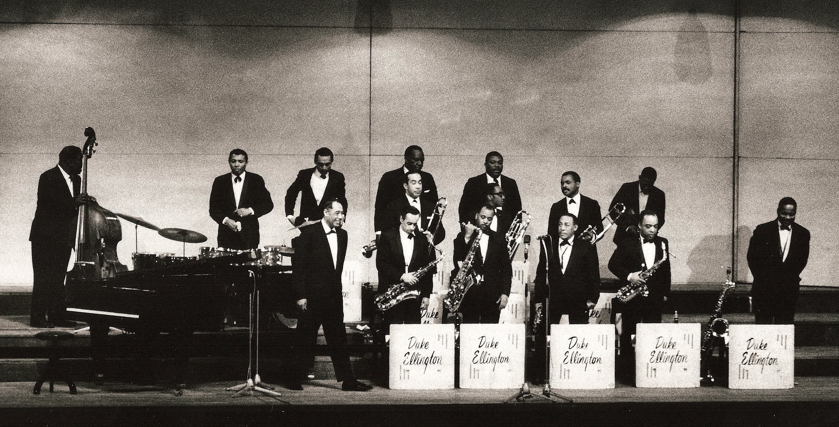 Jazz history timeline preceden for The ellington