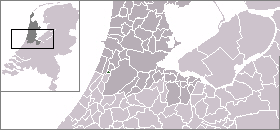 Location of Bennebroek