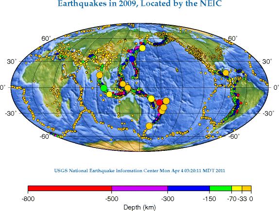 Earthquake distribution 2009.png