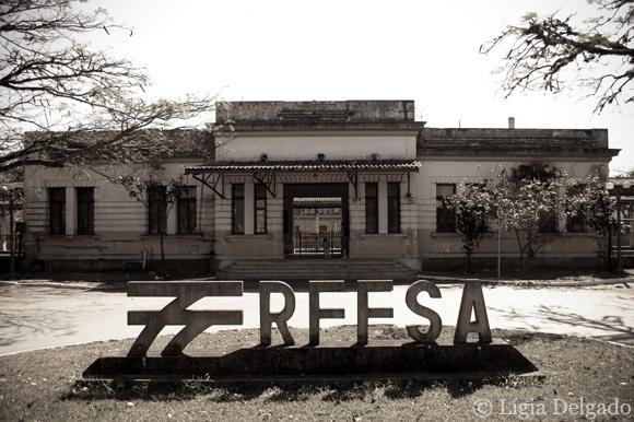 3661f2b1bd0 Vista da nova Estação Ferroviária. A original foi inaugurada em agosto de  1876