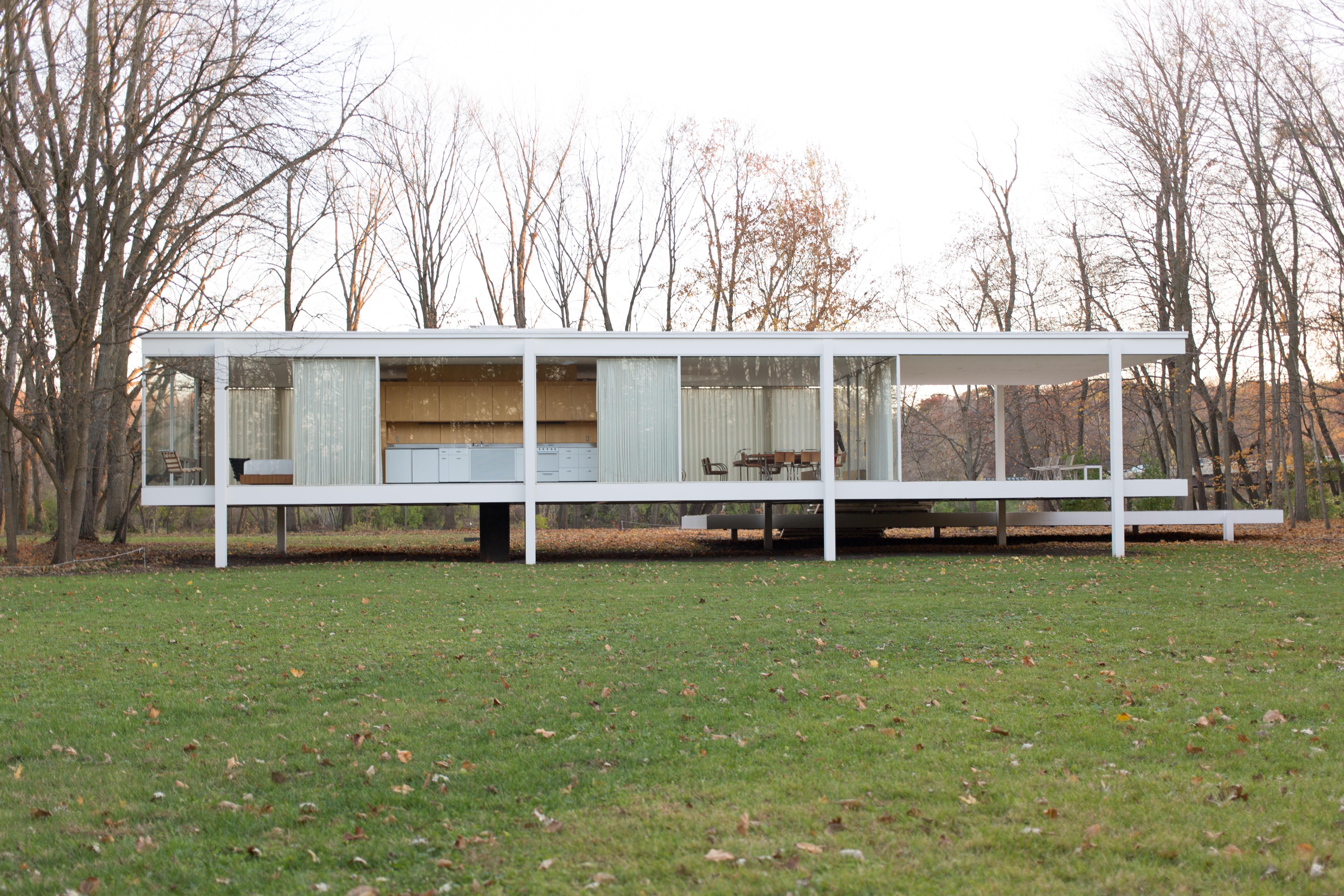 Farnsworth house by mies van der rohe exterior 8 jpg - Farnsworth House By Mies Van Der Rohe Exterior 8 Jpg 1