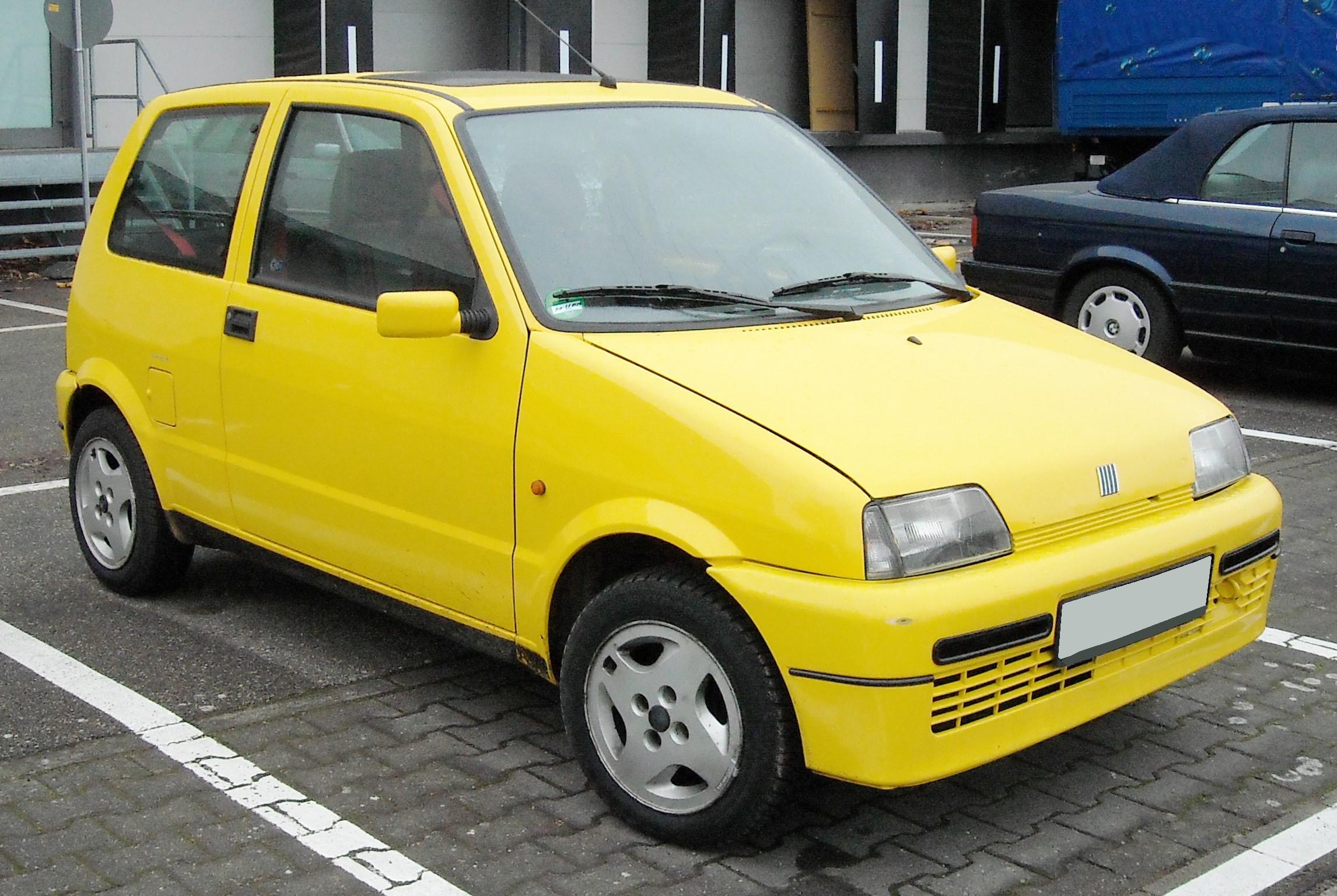 File Fiat Cinquecento Sporting Front 20081125 Jpg